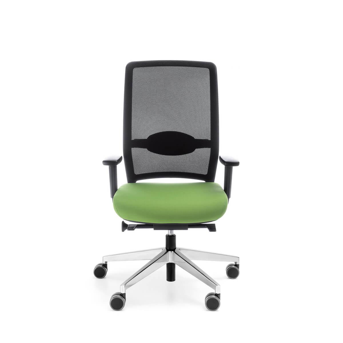 Kancelárska otočná stolička Veris Net