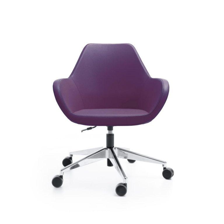 Kancelárska otočná stolička Fan 10