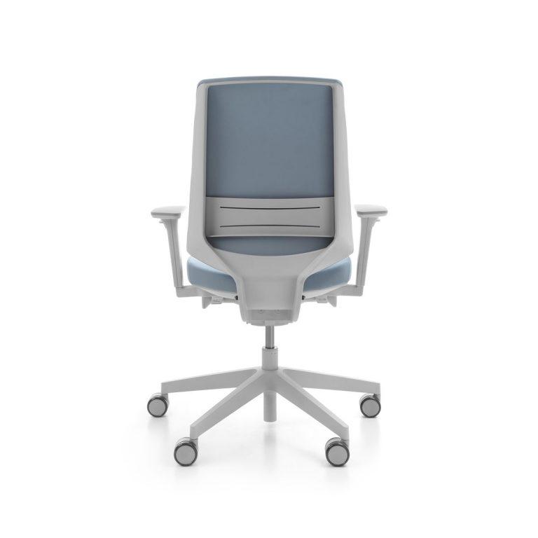 Kancelárska otočná stolička LightUp 230SFL siva