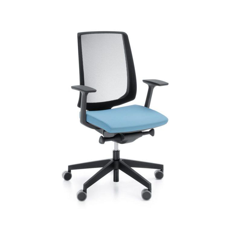Kancelárska otočná stolička LightUp 250SFL