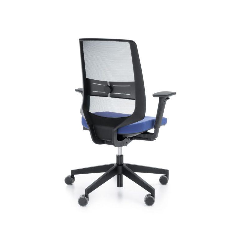 Kancelárska otočná stolička LightUp 250SFL cierna