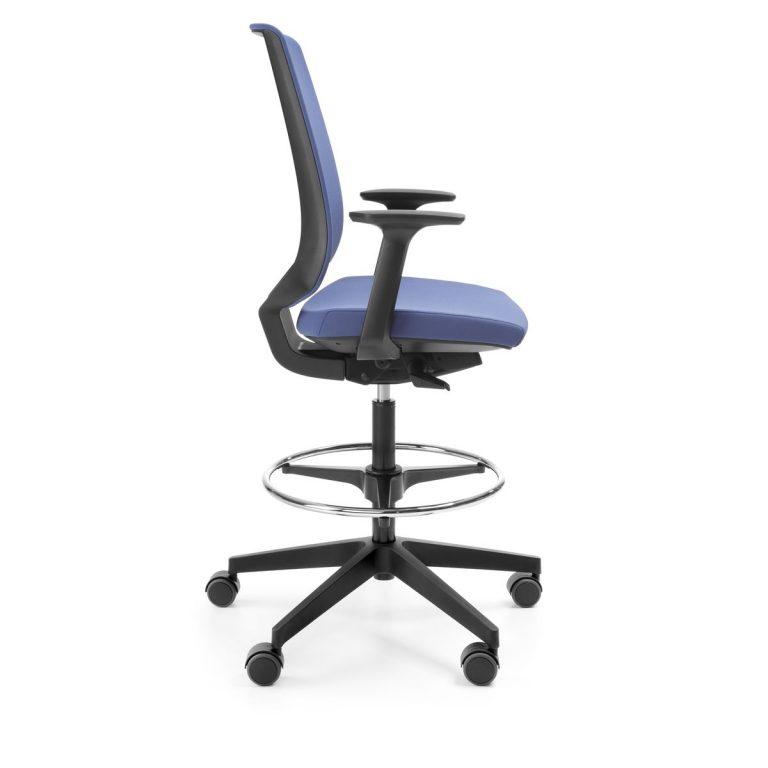 Kancelárska otočná stolička LightUp 330ST