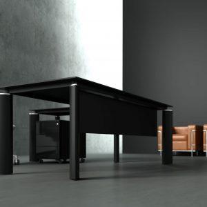 Riaditeľský nábytok Crystal-ergonomická stolová zostava