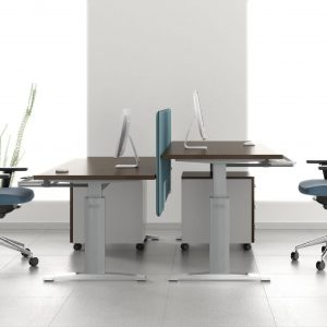 Ergonomic Master-kancelarsky stôl s nastaviteľnou výškou
