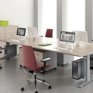 Ergonomic Master-kancelarsky stôl - zostava nabytku