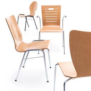 Jedálenska stolička Ligo - produktová foto