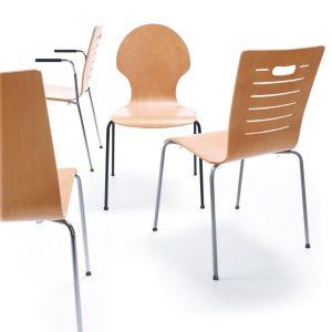 Jedálenska stolička Resso - produktová foto
