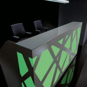 Kancelárska recepcia-Zig-Zag_zelena