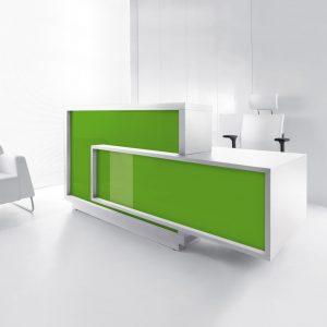 Recepčný pult_FORO_zelena