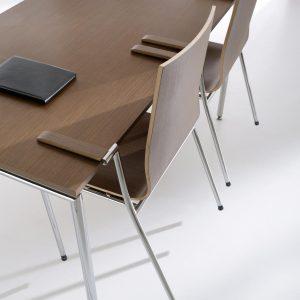 Konferenčná jedálenska stolička Sensi - produktova foto