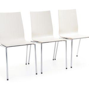Konferenčná jedálenska stolička Sensi - spájanie do radov