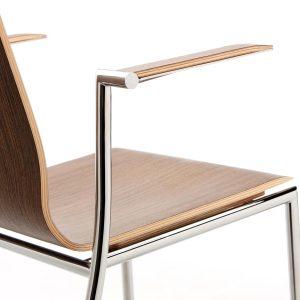 Konferenčná jedálenska stolička Sensi - detail