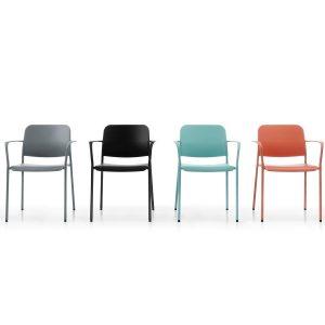 Konferenčná-jedálenska stolička Zoo - portfólio
