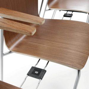 Konferenčná stolička Com - profuktová foto 9