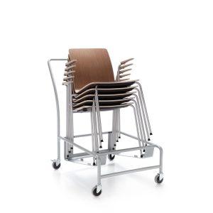 Konferenčná stolička Com stohovanie 1