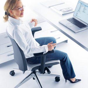 Otočná kancelárska stolička Arca produktová