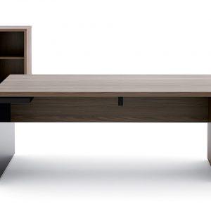 Manažérsky stôl MITO s kontajnerom a nízkou skrinkou. MDD