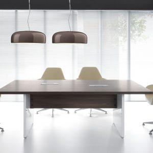 Rokovací stôl MITO - prevedenie Platan tmavý
