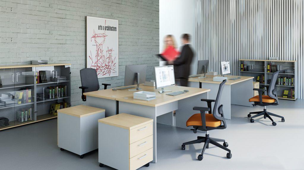 Lacný kancelársky nábytok - EKO